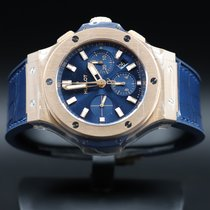 Hublot Big Bang 44 mm Or rose 44mm Bleu