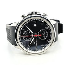 IWC Portuguese Yacht Club Chronograph Steel 45mm Black Arabic numerals United States of America, New York, New York