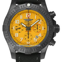 Breitling Automatic Yellow Arabic numerals 45mm new Avenger Hurricane