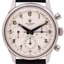 Universal Genève Compax Very good Steel 38mm Manual winding United States of America, California, West Hollywood