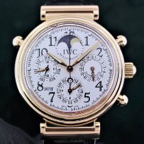 IWC Da Vinci Perpetual Calendar Yellow gold 41.5mm White United States of America, New York, NEW YORK