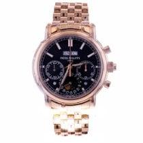 Patek Philippe 5204/1R-001 Pозовое золото 2018 Perpetual Calendar Chronograph 40mm новые