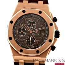 Audemars Piguet Red gold Automatic Brown Arabic numerals 42mm pre-owned