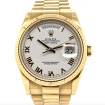 Rolex 118238 Yellow gold 2001 Day-Date 36 36mm pre-owned United States of America, New York, New York
