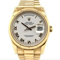 Rolex Day-Date 36 Yellow gold 36mm White Roman numerals United States of America, New York, New York