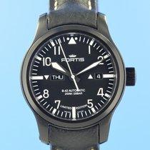Fortis gebraucht Automatik 42mm Schwarz Saphirglas