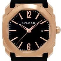 Bulgari Octo Rose gold 41mm Black