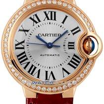 Cartier Ballon Bleu 33mm новые Автоподзавод Часы с оригинальной коробкой