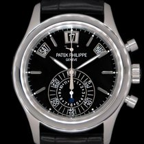 Patek Philippe Annual Calendar Chronograph Platinum 40.5mm Black United States of America, New York, New York