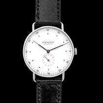 NOMOS Metro 38 new 2021 Manual winding Watch with original box and original papers 1108