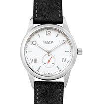NOMOS Club Campus Staal 38.5mm Wit