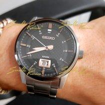 Seiko Steel 40,8mm Quartz SUR285P1 Seiko Sport Acciaio Nero Rosa 40,8mm new