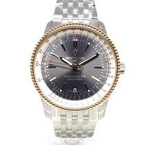 Breitling Navitimer U17326211M1A1 New Gold/Steel 41mm Automatic