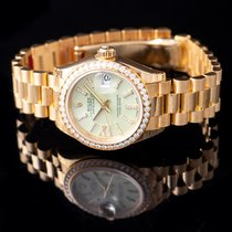 Rolex 279138RBR-0004 Or jaune Lady-Datejust 28mm nouveau