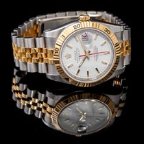 Rolex Datejust Turn-O-Graph new 2021 Watch with original box and original papers 116263 WH