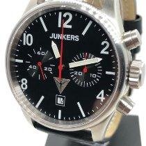 Junkers G38 Steel 42mm Black Arabic numerals