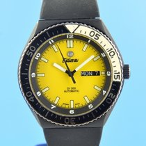 Tutima Military Steel 43.5mm Yellow