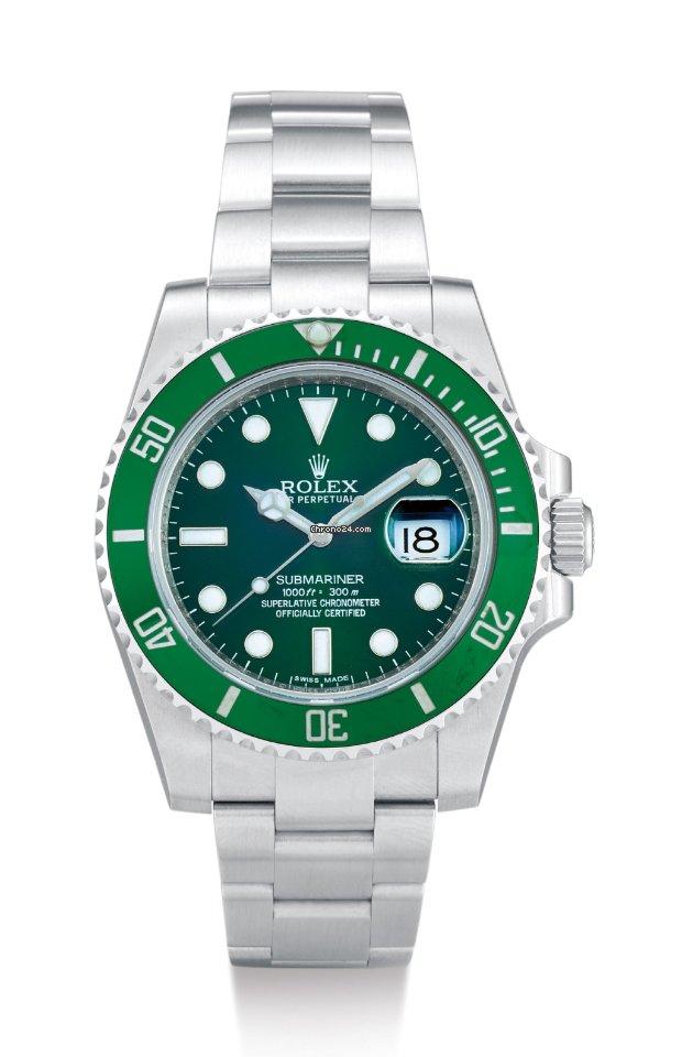 Rolex Submariner Date 116610LV Hulk new