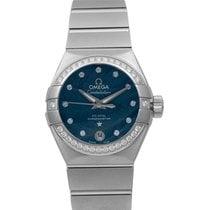 Omega Constellation Ladies новые 2021 Автоподзавод Часы с оригинальными документами и коробкой 123.15.27.20.53.001