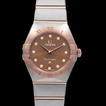 Omega Constellation new Quartz Watch with original box and original papers 131.20.25.60.63.001