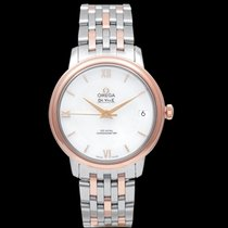 Omega Steel Automatic Mother of pearl 32.7mm new De Ville Prestige