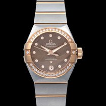 Omega Constellation Ladies Steel 27mm Brown United States of America, California, San Mateo