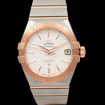 Omega Constellation Men Steel 38mm Silver United States of America, California, San Mateo