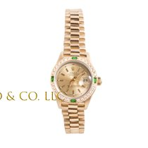 Rolex 69178 Or jaune Lady-Datejust 26mm occasion