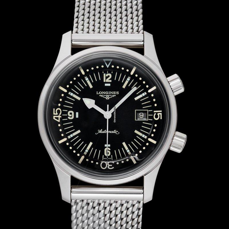 Longines Legend Diver L37744506 2021 new