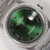 Rolex Datejust Acier 36mm Vert
