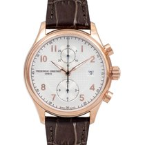 Frederique Constant Runabout Chronograph Steel 42mm Silver