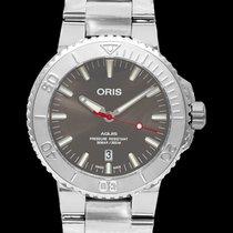Oris Aquis Date Steel 43.5mm Grey United States of America, California, San Mateo