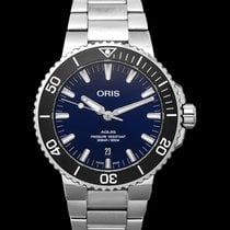 Oris Aquis Date Steel 43.5mm Blue United States of America, California, San Mateo