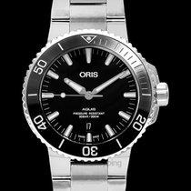Oris Aquis Date Steel 43.5mm Black United States of America, California, San Mateo