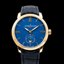 Ulysse Nardin Classico Rose gold 40mm Blue United States of America, California, San Mateo