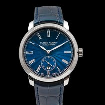 Ulysse Nardin Classico Steel 40mm Blue United States of America, California, San Mateo