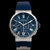 Ulysse Nardin Marine Chronograph new 2021 Automatic Watch with original box and original papers 1533-150-3/43