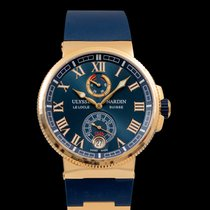 Ulysse Nardin Marine Chronometer Manufacture Rose gold 43mm Blue United States of America, California, San Mateo