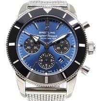 Breitling Superocean Héritage II Chronographe Stahl 44,00mm Blau Arabisch Deutschland, München - Lehel
