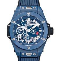 Hublot Big Bang Meca-10 nuevo Cuerda manual Reloj con estuche y documentos originales 414.EX.5123.RX