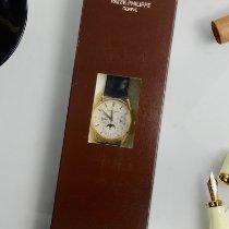 Patek Philippe Ouro amarelo Automático Prata Sem números 37.2mm novo Perpetual Calendar