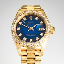 Rolex Lady-Datejust 69278 Very good Yellow gold 26mmmm Automatic