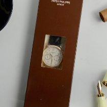 Patek Philippe Chronograph Oro rosa 39.4mm Plata Arábigos