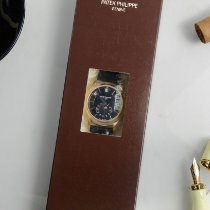 Patek Philippe Annual Calendar Or rose 40mm Noir Sans chiffres