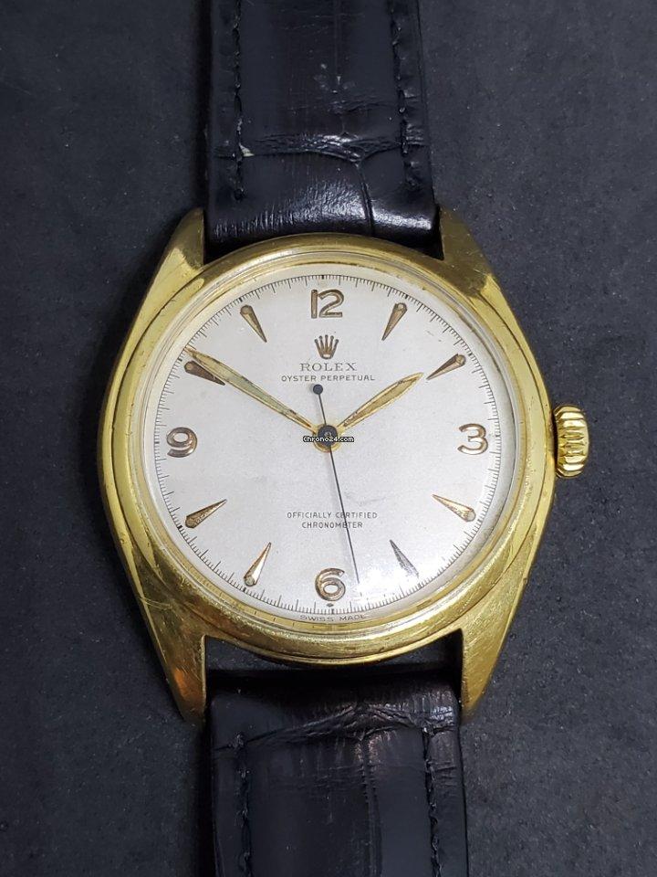 Rolex Bubble Back 5028 1952 pre-owned