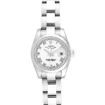 Rolex Lady-Datejust Acier 26mm Blanc Romains