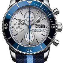 Breitling Superocean Héritage II Chronographe A133131A1G1W1 New Steel 44mm Automatic