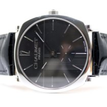 Chaumet pre-owned Manual winding 38mm Black Sapphire crystal 3 ATM