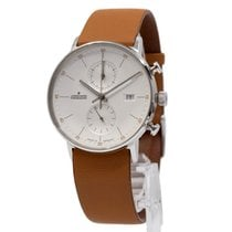 Junghans FORM C Steel 40mm White Arabic numerals