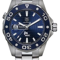 TAG Heuer Aquaracer 500M Staal 43mm Blauw